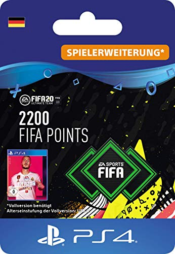 2200 FIFA 20 Points - PS4 deutsches Konto (Download Code)