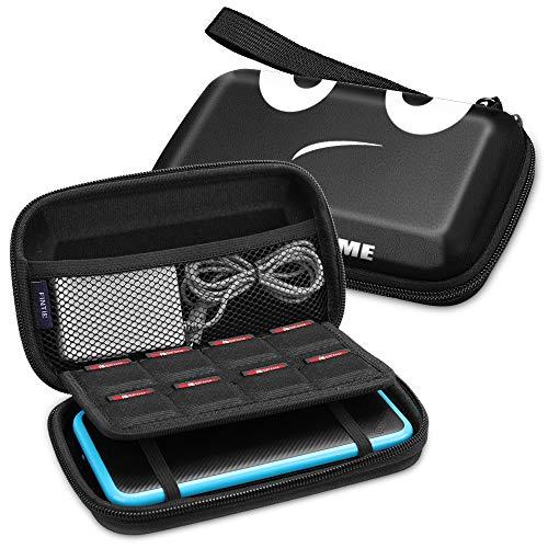 Fintie Tasche für Nintendo 2DS XL / 3DS XL - Tragetasche Aufbewahrungstasche Transporttasche mit Spielkartenhaltern und Haltegurt für die Nintendo 2DS XL / 3DS XL / 3DS / 3DS LL Konsole, Don't Touch
