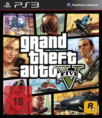 Grand Theft Auto V - Standard Edition [PlayStation 3]